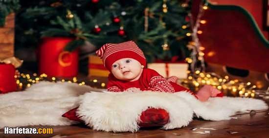 لباس کریسمسی کودکانه