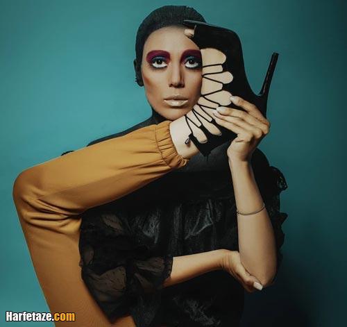 مدلینگ مرجان شکوفکی