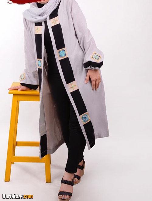 شیکترین مدلهای مانتو عید دخترانه 1400 سنتی هنری