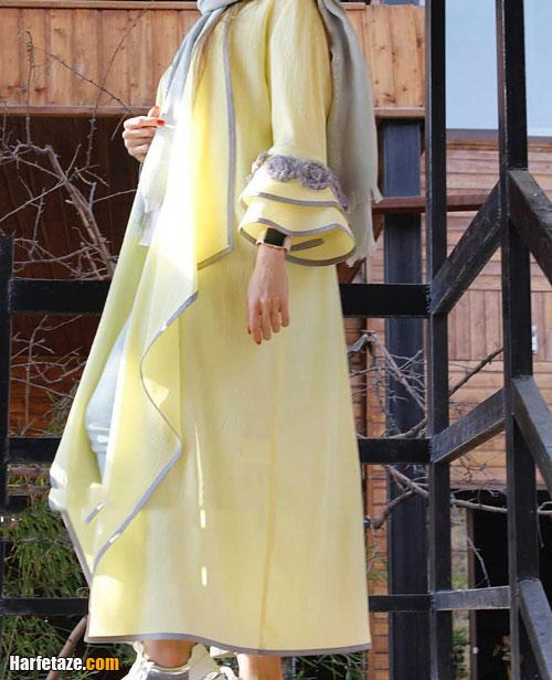 جدیدترین های مدل مانتو بلند مجلسی برای عید نوروز ۱۴۰۰