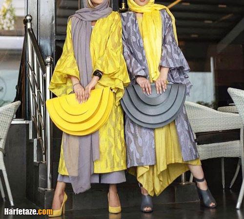 مدل های جدید مانتو زرد و لیمویی دخترانه و زنانه 1400