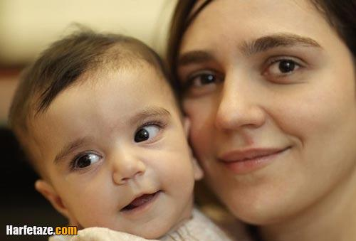 مونا احمدی و همسرش