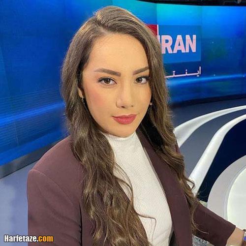 بیوگرافی نیلوفر مولایی مجری ایران اینترنشنال و همسرش