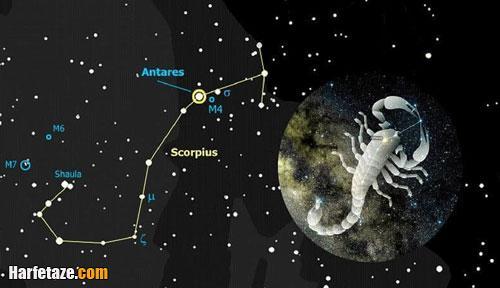 جدول کامل روزهای قمر در عقرب 1400 + روزهای قمر در عقرب در تقویم ۱۴۰۰