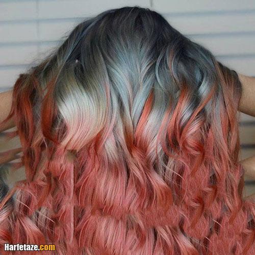 رنگ موی فانتزی برای عید نوروز 1400