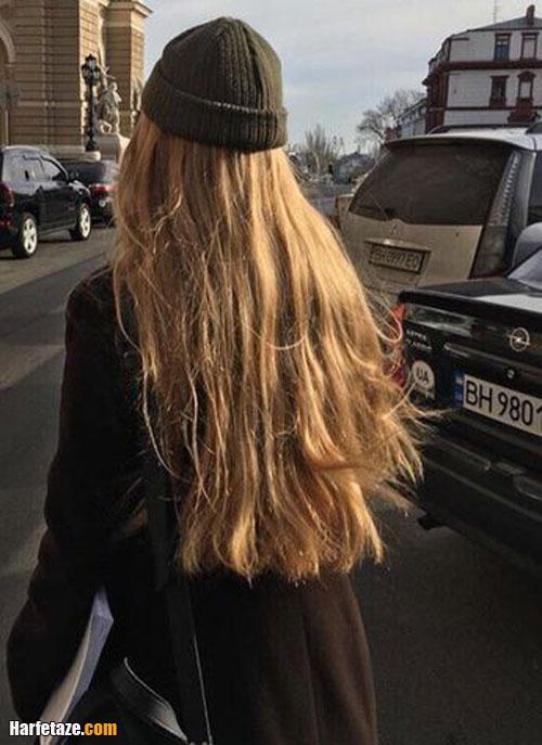 رنگ موی طلایی و بور برای عید و جشن ها و مهمانی