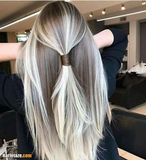 رنگ مو عید نوروز 1400 برای موهای کوتاه