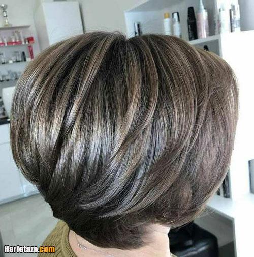 رنگ مو عید نوروز 1400 برای موهای بلند