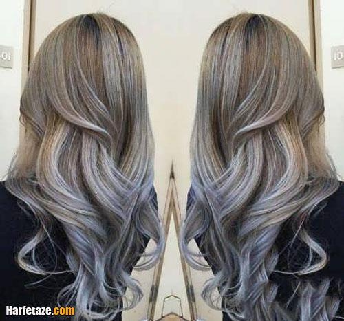 مدل جدید رنگ موی عید نوروز 1400
