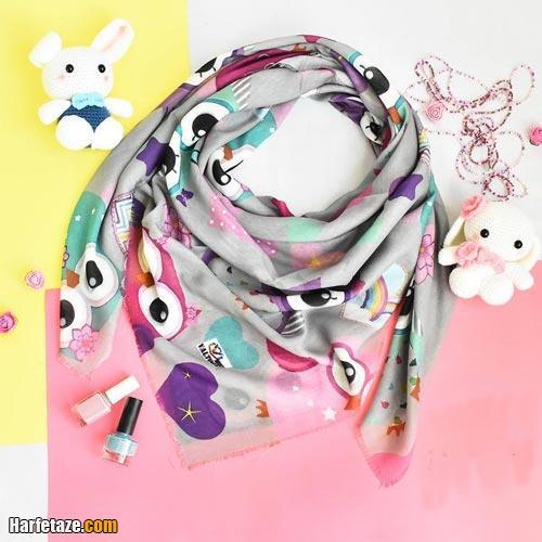 روسری فانتزی دخترونه 2021