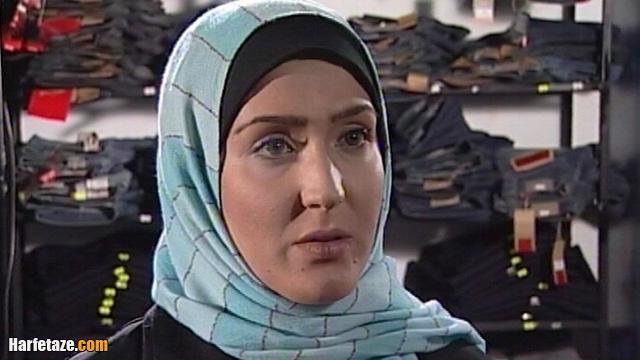 زهره فکورصبور بازیگر نقش مریم در فصل زرد