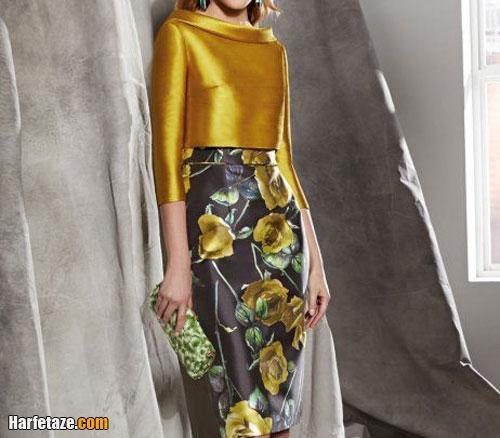 ست لباس خاکستری و زرد لیمویی مجلسی و اسپرت زنانه 2021 + راهنمای ست کردن
