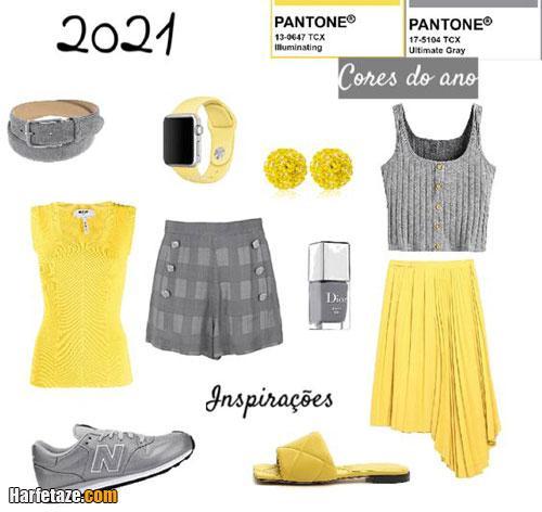 مدل های لباس زنانه رنگ سال 2021