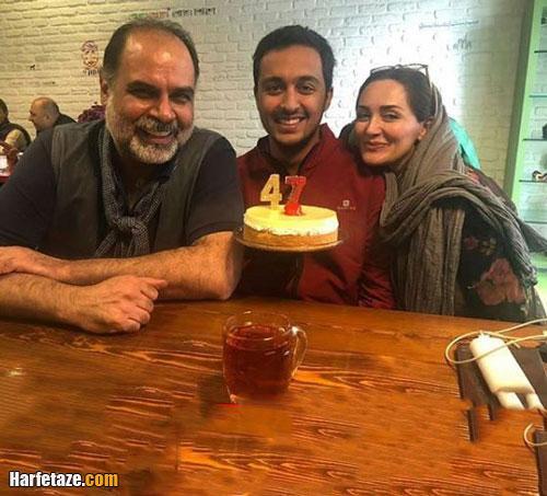 عکس پدر و مادر یسنا میرتهماسب