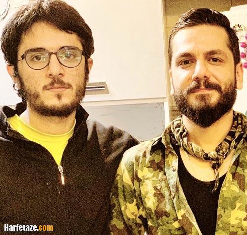 عکس های جدید عباس غزالی و عباس غزالی