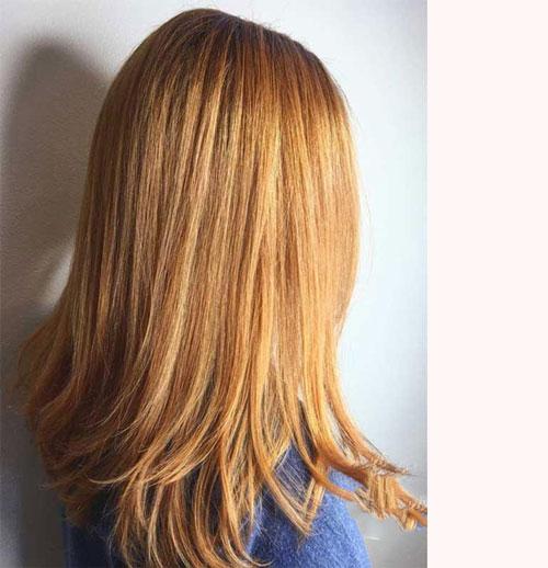 انواع مدل جدید رنگ مو طلایی و زرد (مش ،هایلات و فانتزی) 2021 - 1400