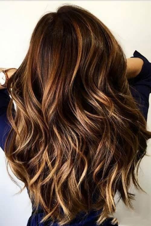 رنگ مو طلایی شکلاتی