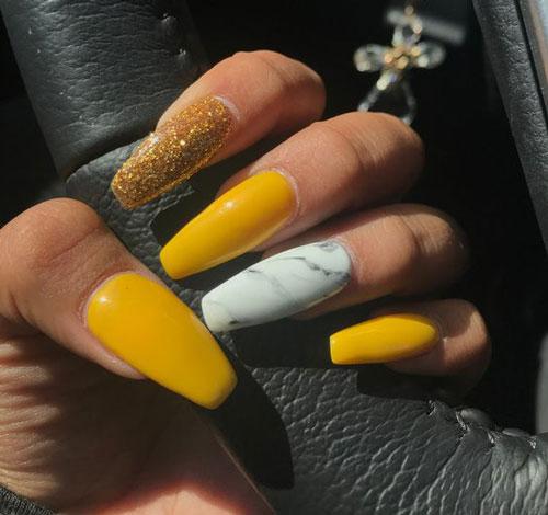 تصاویری از طراحی ناخن جدید ۱۴۰۰