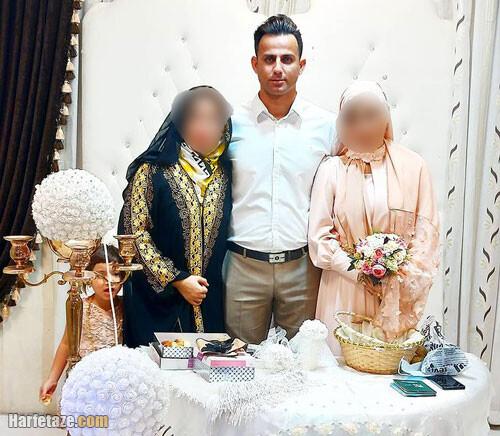 علی شکارچی مرد دو زنه | بیوگرافی علی شکارچی مرد دو زنه اینستاگرام و همسرانش + شغل