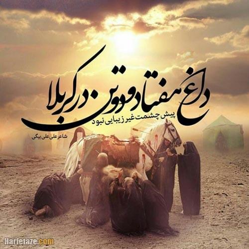 عکس نوشته وفات حضرت زینب 99
