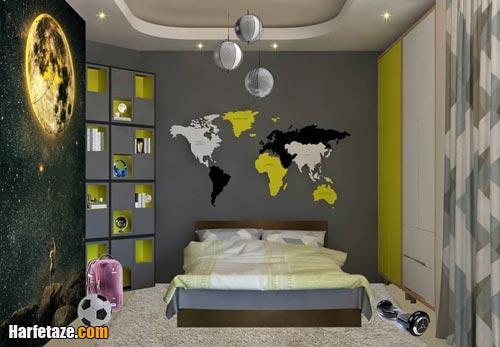 نحوه چیدمان اتاق خواب پسرانه 2021