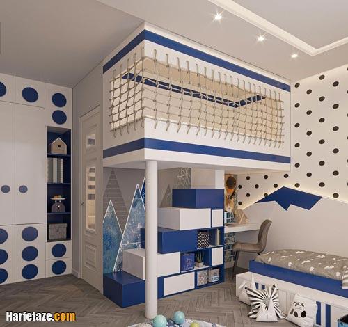 مدل دکوراسیون اتاق خواب پسرانه 2021