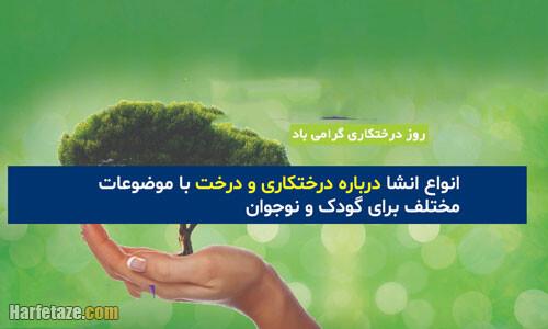 11 انشا درباره روز درختکاری و درخت با مقدمه و نتیجه