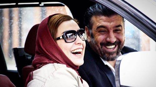 سکانس ماه چهره خلیلی و علی انصاریان در فیلم هدیه