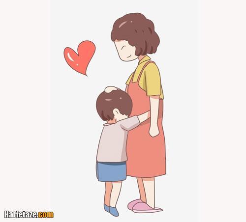 رنگ آمیزی نقاشی روز مادر