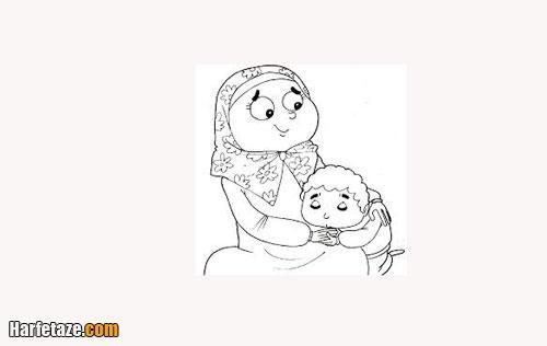 کاربرگ برای کودکان ویژه روز مادر