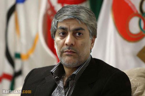 کیومرث هاشمی رییس فدراسیون فوتبال ایران