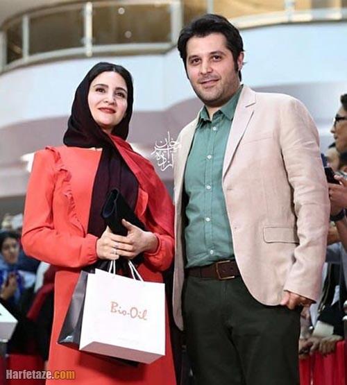 نورا هاشمی و همسرش سیاوش اسعدی