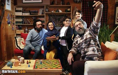 علی انصاریان در فیلم رمانتیسم عماد و طوبی