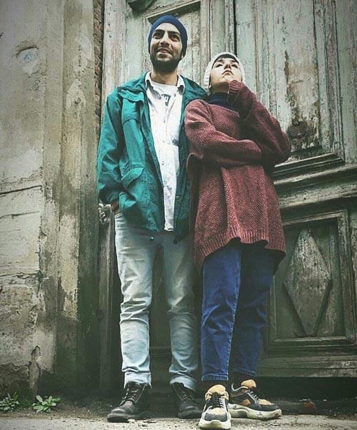 عکس های جدید سپهر حیدری نژاد و همسرش
