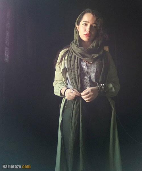 مهسا غفوری در سریال روزهای آبی