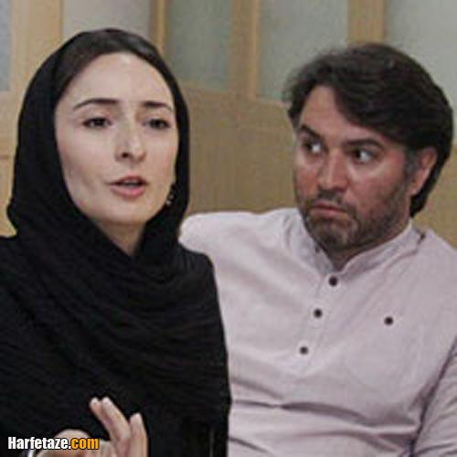 سهیلا گلستانی و همسرش