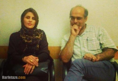 طوفان مهردادیان و همسرش