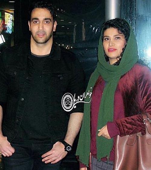یاسمن ترابی و همسرش