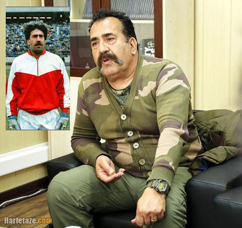 زندگینامه و افتخارات وحید قلیچ دروازه بان سابق پرسپولیس و تیم ملی فوتبال ایران