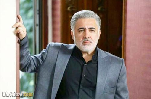 بازیگر نقش محسن برادر رضا در سریال گیسو