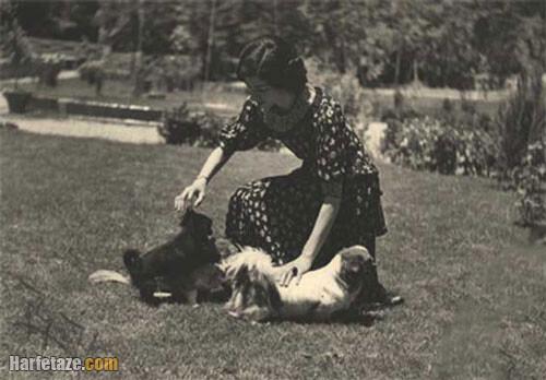 ماجرای رابطه جنسی اشرف پهلوی با سگش