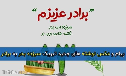 متن تبریک سیزده بدر 1400 به برادر به همراه عکس نوشته و پروفایل