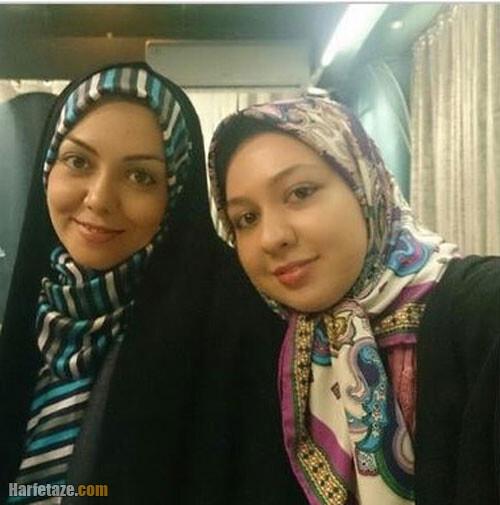 عکس آذین خواهر آزاده نامداری