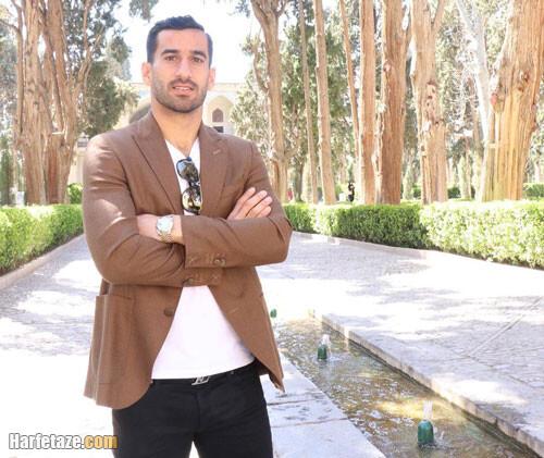 اینستاگرام احسان حاج صفی