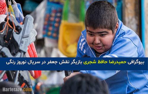 بازیگر نقش جعفر در سریال نوروز رنگی کیست؟ +بیوگرافی و عکس شخصی حمیدرضا حافظ شجری