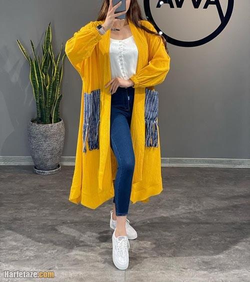 مانتو بهاره ۱۴۰۰ | جدیدترین مدل های مانتوهای زنانه بهاره ویژه ۱۴۰۰