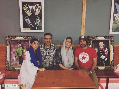 بیوگرافی نگار عابدزاده و همسرش رهام هاشمی   دختر احمدرضا عابدزاده