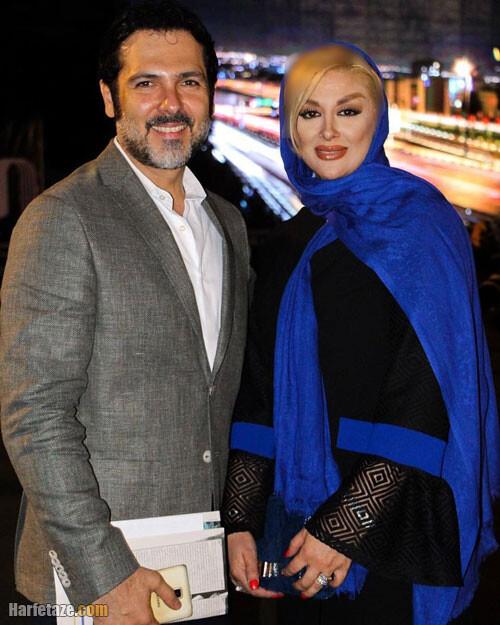 بیوگرافی و عکس های پونه یزدانی همسر کوروش تهامی