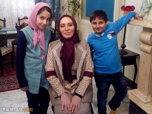 روژان تقی زاده در سریال پریا