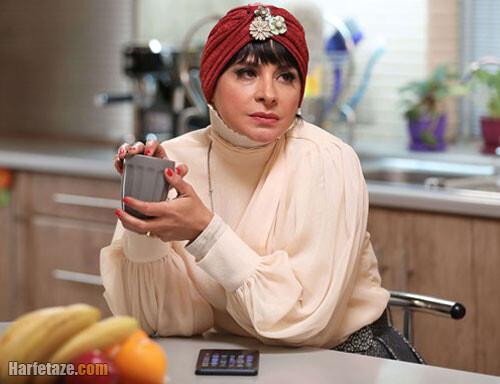 سیما تیرانداز در نقش مینا در سریال دراکولا